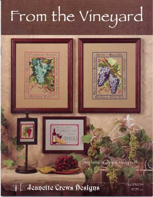 Jeanette Crews Designs, From The Vineyard, Needles and Things