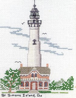 Tidewater Originals, St. Simons Island Lighthouse, Needles and Things