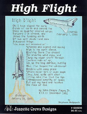 Jeanette Crews Designs, High Flight, Needles and Things