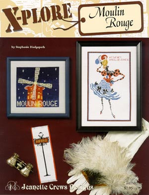 Jeanette Crews Designs, X-Plore Moulin Rouge, Needles and Things