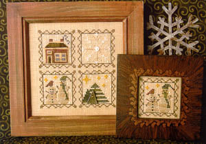Hollis Designs, Snowy Littles, Needles and Things