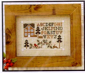 Little House Needleworks, Woodland Sampling, Needles and Things