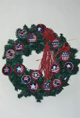 Classic Stitch, The, Patriotic Ornaments, Needles and Things
