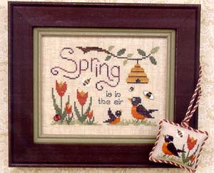 Brittercup Designs, Spring Is In The Air, Needles and Things