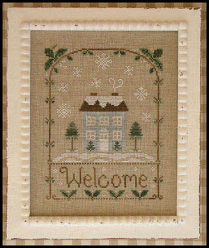 Country Cottage Needleworks, Winter Welcome, Needles and Things