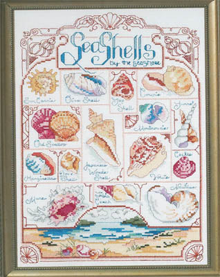 Janlynn Corporation, The, Seashells, Needles and Things