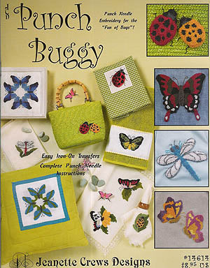 Jeanette Crews Designs, Punch Buggy (Punchneedle), Needles and Things