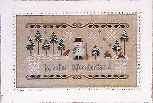 Little House Needleworks, Winter Wonderland, Needles and Things
