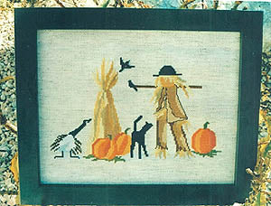 Lynn's Prints/Diane Graebner, Scaring The Crows, Needles and Things