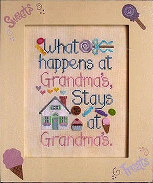 Waxing Moon Designs, What Happens At Grandma's, Needles and Things