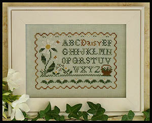 Country Cottage Needleworks, Daisy Sampler, Needles and Things