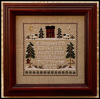 Little House Needleworks, Winter Whites, Needles and Things