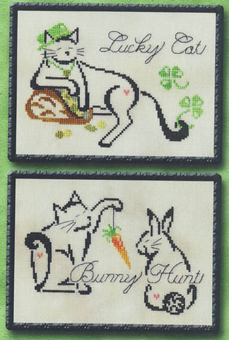 Brittercup Designs, March/April  Monthly Brittie Kitties, Needles and Things