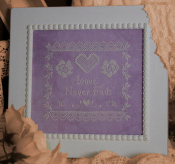 Ladybug Lane Designs, Love Never Fails, Needles and Things