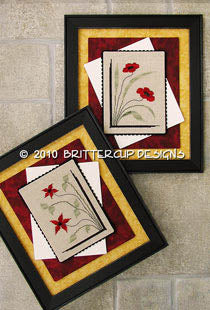 Brittercup Designs, Floral Decor, Needles and Things