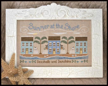 Country Cottage Needleworks, Summer At The Shore, Needles and Things