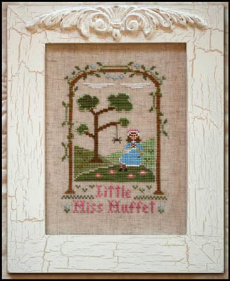 Country Cottage Needleworks, Little Miss Muffet, Needles and Things
