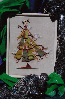 Marilynn & Jackie's Collection, Halloween Hoopla Tree, Needles and Things