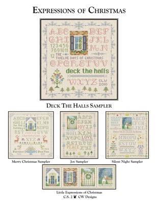 CW Designs, Deck The Halls Sampler, Needles and Things