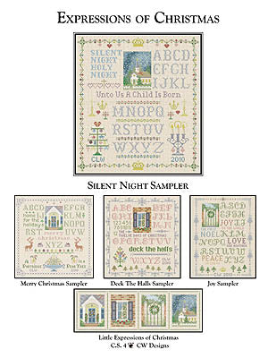 CW Designs, Silent Night Sampler, Needles and Things