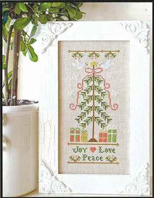 Country Cottage Needleworks, Joy Love Peace, Needles and Things