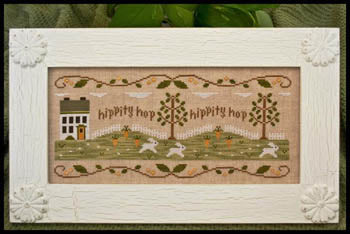 Country Cottage Needleworks, Bunny Hop, Needles and Things