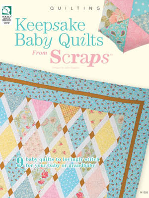 Annie's, Keepsake Baby Quilts From Scraps (Quilt), Needles and Things