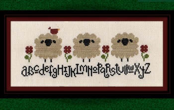 Carousel Charts, Spring Sheep Alphabet, Needles and Things