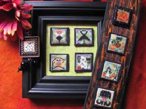 By The Bay Needleart, Stitch An Inch Halloween, Needles and Things