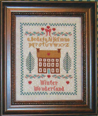 Margaret & Margaret Inc., Winter Wonderland Sampler, Needles and Things