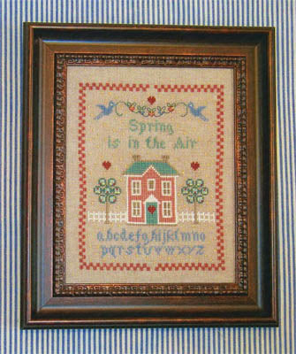 Margaret & Margaret Inc., Spring Is In The Air Sampler, Needles and Things