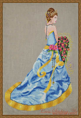 Cross Stitching Art, Milady Of Summer, Needles and Things