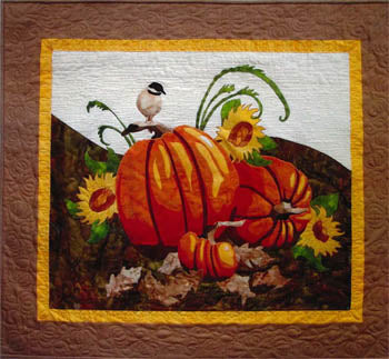 More The Merrier Designs, Fall Harvest Pumpkins, Needles and Things