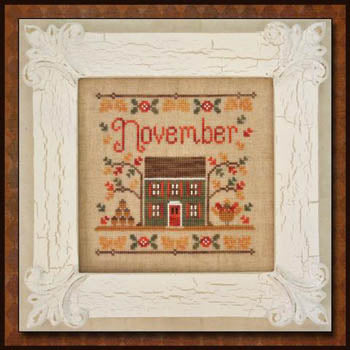 Country Cottage Needleworks, Cottage Of The Month-November, Needles and Things