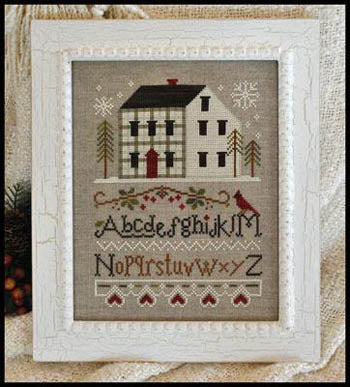 Little House Needleworks, Winter Plaid, Needles and Things