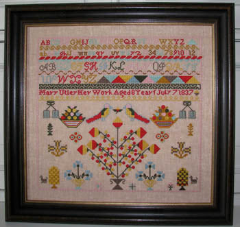 Black Branch Needlework, Mary Utley Sampler, Needles and Things