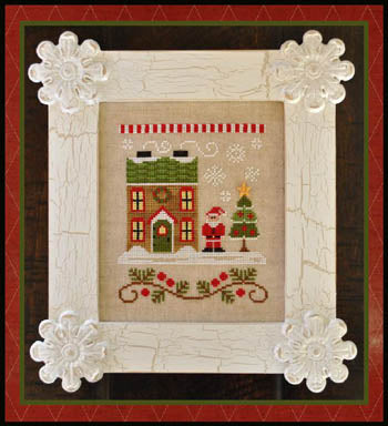 Country Cottage Needleworks, Santa's Village 1-Santa's House, Needles and Things