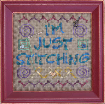 Katidid Designs, Just Stitching (w/chms), Needles and Things