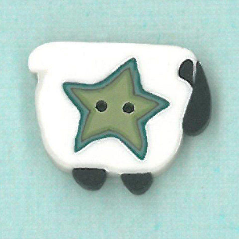 Just Another Button Company, wooly star sheep, Needles and Things