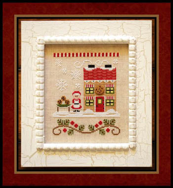 Country Cottage Needleworks, Santa's Village 4-Mrs Claus Cookie Shop, Needles and Things