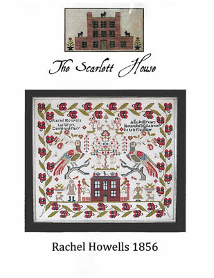 Scarlett House The, Rachel Howells 1856, Needles and Things