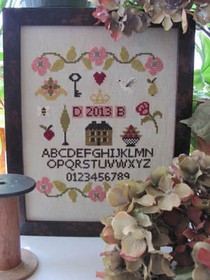 By The Bay Needleart, Simple Sampler, Needles and Things