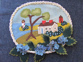 By The Bay Needleart, Seaside Blue In Wool (Wool), Needles and Things
