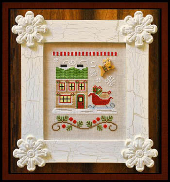 Country Cottage Needleworks, Santa's Village 9-Santa's Sleighworks, Needles and Things