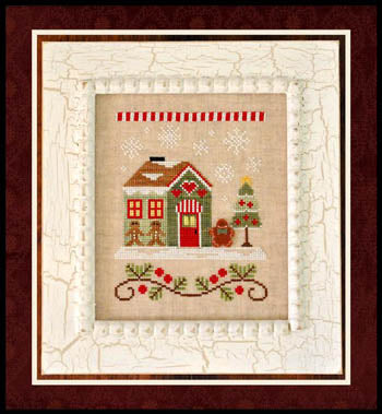 Country Cottage Needleworks, Santa's Village 10-GingerbreadEmporium, Needles and Things