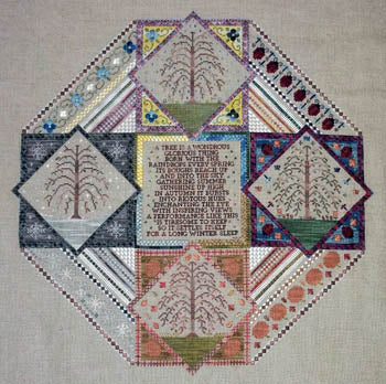Northern Expressions Needlework, Sampler Of Seasons, Needles and Things
