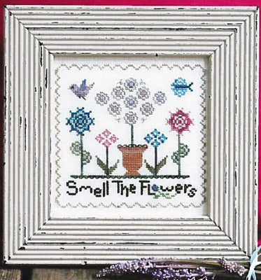 Annalee Waite Designs, Smell The Flowers, Needles and Things
