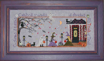 Praiseworthy Stitches, Trick Or Treat, Needles and Things