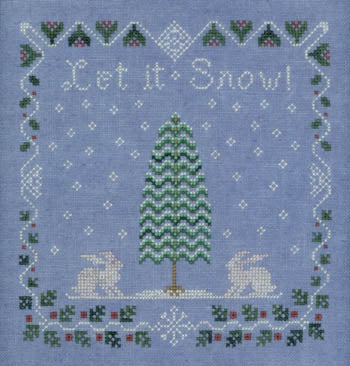 Elizabeth's Designs, Snow Berry Sampler, Needles and Things