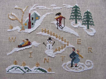 By The Bay Needleart, Winter Holiday, Needles and Things